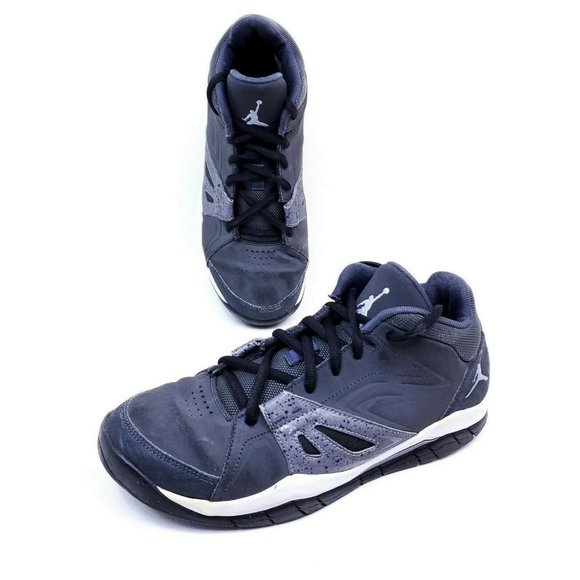 Nike Air Jordan Ace 23 Gray Black Sz 7 Youth Shoes